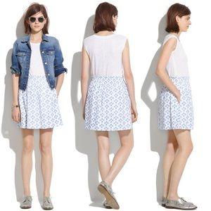 🔹Madewell Ikat print skirt